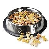 Futter-Napf für Hunde und Katzen aus Edelstahl