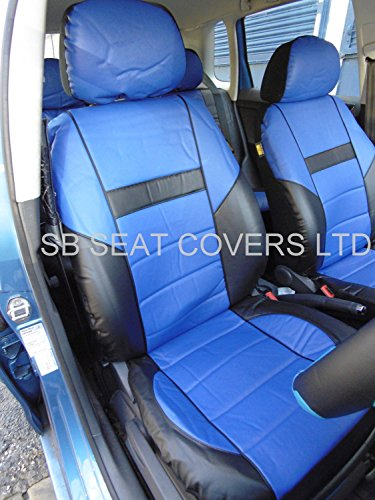 Opel Adam coprisedili Rossini ROS 0212 in finta pelle Prestige, colore: blu