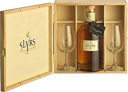 Slyrs Single Malt Whisky 2011 HILTUPALT (0,35 Liter + 2 Gläser)