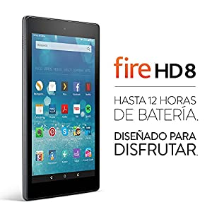 Tablet Fire HD 8, pantalla HD de 8''