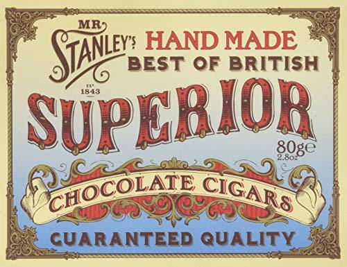 Mr Stanley's Chocolate Cigars 2 x 80g Gift Box