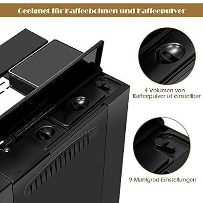 COSTWAY-Kaffeevollautomat-Edelstahl-Kaffeemaschine-mit-Milchaufschumersystem-Doppelte-Tassen-Funktion-2L-WassertankKaffeebohnen-und-Kaffeepulver-1200W