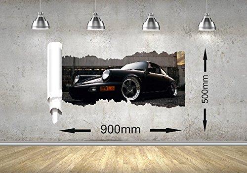 porsche-911-voiture-rip-mur-design-garcon-fille-bureau-enfant-chambre-n-1-900mm-x-500mm