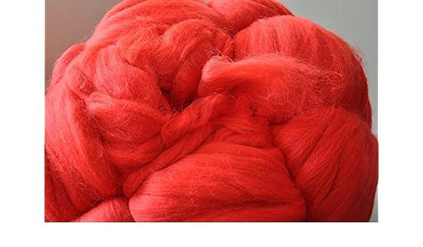 Braun Rot Burgunder Filzwolle 100/% Wolle zum Filzen Trockenfilzen Nassfilzen
