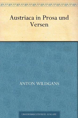 Austriaca in Prosa und Versen