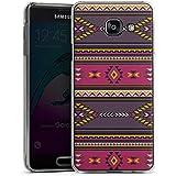 Samsung Galaxy A3 (2016) Housse Étui Protection Coque Ethnique Indien Indien