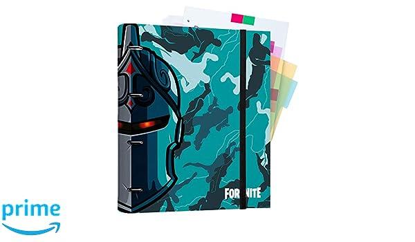 Raccoglitore ad Anelli A4 chiusura elastica Erik/® 26X32 cm Fortnite 2 copertina rigida