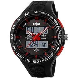 Men's waterproof outdoor sport digital watch