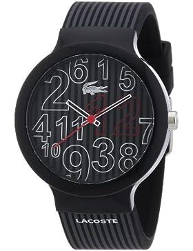 Lacoste Unisex-Armbanduhr Analog Quarz Silikon 2020015
