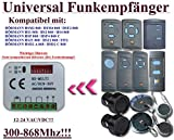 Universal Funkempfänger kompatibel mit Hörmann 868,3Mhz HS1 / HS2 / HS4 / HSE2 / HSM2 / HSM4 / FIT2 / HDS2-A 868 / HSD2-C 868 / HSZ1 868 / HSZ2 868 / HSP4 868 / HSP4-C 868 handsender. 2-befehl Rolling Fixed code 300Mhz-868Mhz 12 - 24 VAC/DC Funkempfänger. Kompatibel nur mit blaue Taste Fernbedienung!!!
