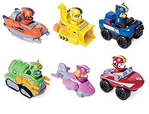 Paw Patrol Rescue Racers vehículo de juguete -Modelos Surtidos 1 unidad