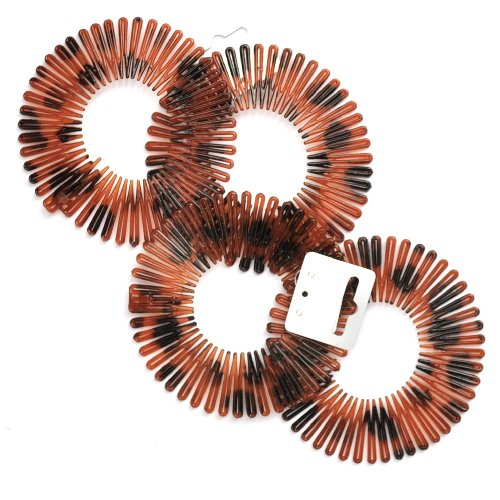 Tortoiseshell Flexi Combs/ Shark Combs / Hair Combs by Mia's Accessories