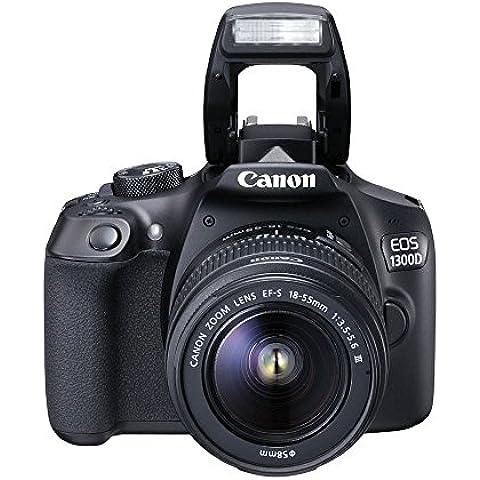 Canon EOS 1300D / Rebel T6 / KISS X80  18-55 / 3.5-5.6 EF-S IS II - Cámara digital