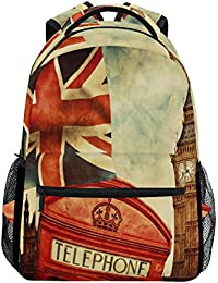 2b7a7f913194 COOSUN Union Jack Flag Casual Backpack School Bag Travel Daypack