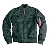 Alpha Industries MA-1 VF 59 Women Jacket Jacke (S, dark petrol)