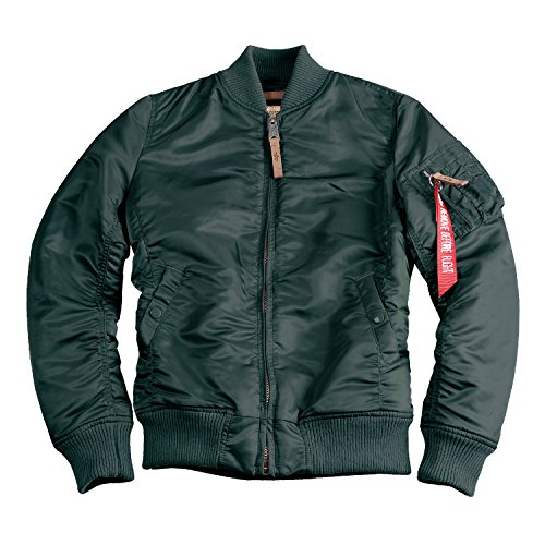 Alpha Industries MA-1 VF 59 Women Jacket Jacke (L, dark petrol) Alpha Flight Jacket