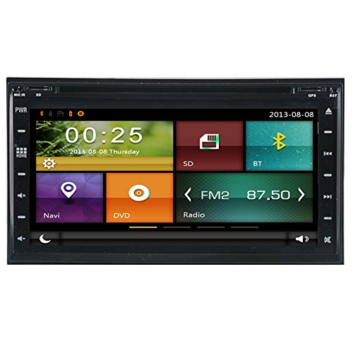autosion Auto DVD GPS Navigation Autoradio Radio Stereo Autoradio für Nissan Frontier Nissan Pathfinder Versa Murano 350Z Sentra Nissan NV200Touchscreen Navigation Navigator, Built in Bluetooth A2DP (Nissan Sentra-touch-screen)