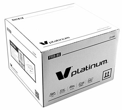 Batería moto YTX9-BS YTX9 BS, V PLATINUM , 12 V 8 Ah