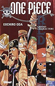 One Piece GuideBook Edition simple Red : Grand Characters