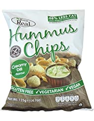 Eat Real - Hummus Chips - Creamy Dill - 135g (Case of 12)