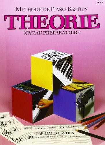 Bastien James Methode De Piano Theorie Niveau Preparatoire Pf Book