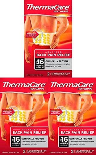 ThermaCare - Cerotti riscaldanti per schiena, confezione da 3