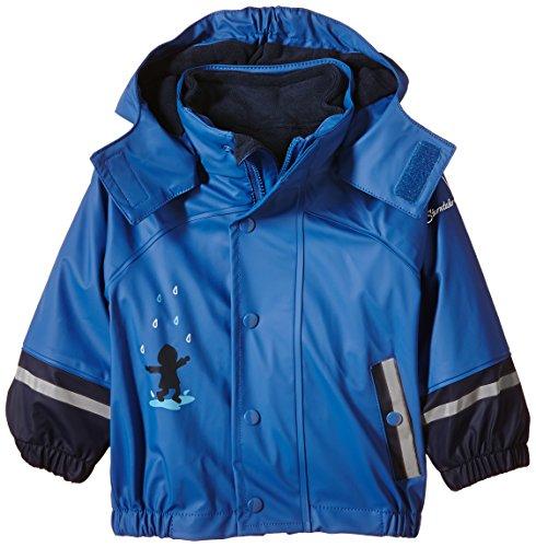 Sterntaler GmbH (Apparel NEW) Sterntaler Baby-Jungen Regenmantel 5651510, Blau (Kobaltblau 353), 74