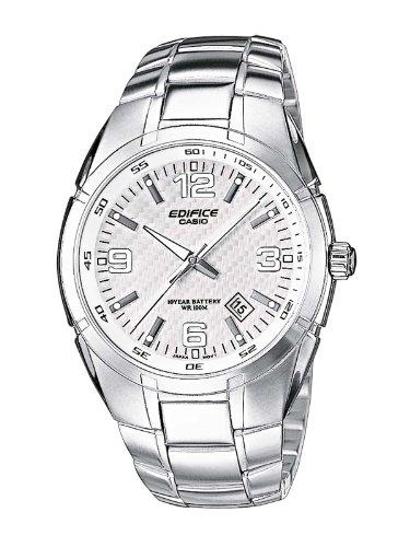Edifice Casio Herren Armbanduhr EF-125D-7AVEF, Weiß