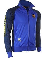 Veste zippée BARCA - Collection officielle Fc Barcelone - Taille enfant garçon