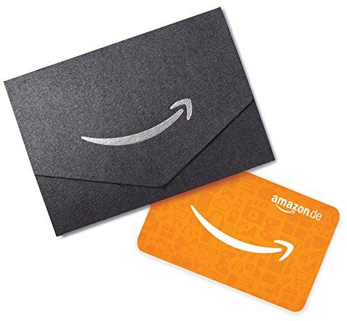 Amazon.de Geschenkkarte in Geschenkkuvert - 30 EUR (Schwarz)