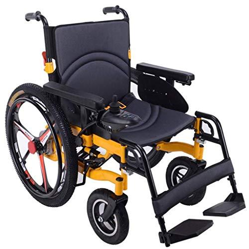 Y-L Motorino Medico Portatile Pieghevole Leggero Anziano della Sedia a Rotelle Elettrica Leggera Disabile Due per Mobilità Disabile Ed Anz