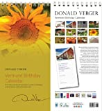 Vermont Sunflower Birthday Anniversary Perpetual Calendars - Unique Gifts, Valentine's Day Mother's Day Christmas, Xmas for Him, Her, Women, Men, Husband, Wife, Mom Dad - Updated 2014 Easter