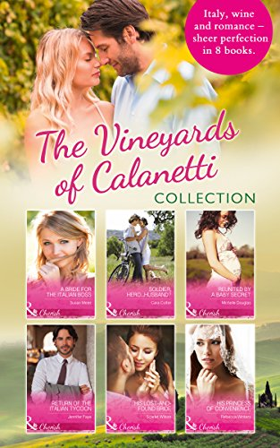 book cover of The Vineyards Of Calanetti