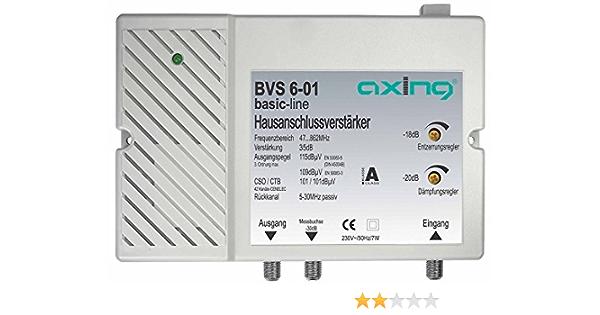 Profitec Axing Hausanschlussverstärker Bis 35db Elektronik