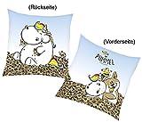 """Pummeleinhorn Kissen """"Pummel"""" 40x40cm"""
