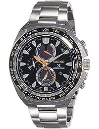 Seiko Herren-Armbanduhr Chronograph Quarz Edelstahl SSC487P1
