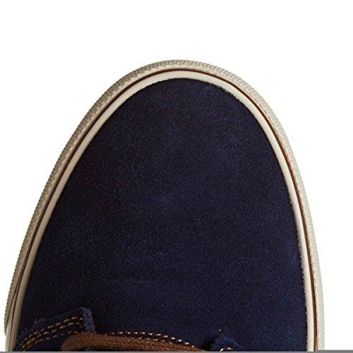 Dc Tonik Se M Zapato Xbkc, Sneaker Basse Uomo Azul Marino / Camel