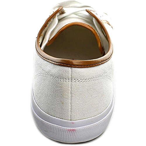Isaac Mizrahi Tie Femmes Toile Baskets White Multi