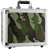 Stagg 53822 Boîte de transport pour CD - 90CD - Camouflage