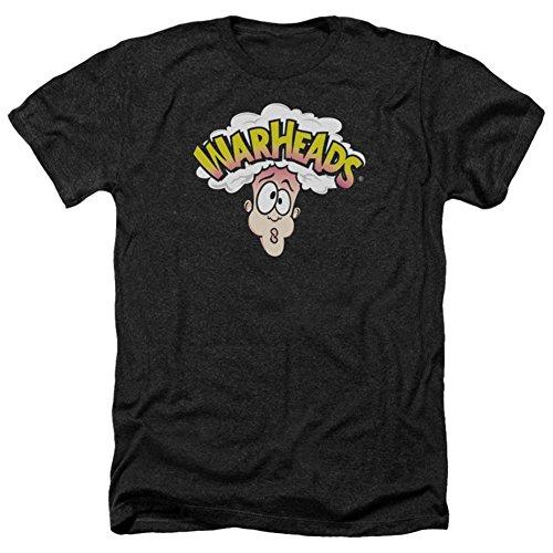 Warheads Herren T-Shirt Opaque Schwarz Schwarz Gr. XXL, Schwarz -