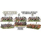 Imperial Roman Starter Army - 124 x 28mm Miniatures - Hail Ceaser - Legionaries Praetorians Veterans by Roman