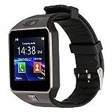 Kivors Smartwatch Nuovo Orologio DZ09 Supporta Schede TF per IOS Android Samsung Huawei Xiaomi Sony LG HTC Iphone7/6s/6/5s/5 da Polso Fitness Bluetooth con Touch Screen Fotocamera con Slot per SIM Card 2.0.