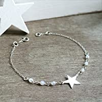 Personalised Sterling Silver Lit