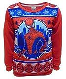 Spider-Man Boys - Felpa - Ragazzo Red 6-7 Anni