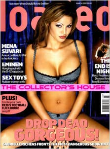 LOADED MAGAZINE ISSUE 83 MARCH 2001 GABRIELLE RICHENS ...