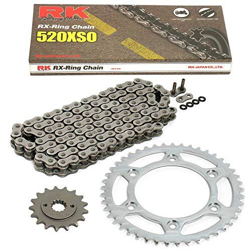 Kettensatz geeignet für Polaris Trail Boss 2x4 325 01-02 Kette RK 520 XSO 78 offen 11/40