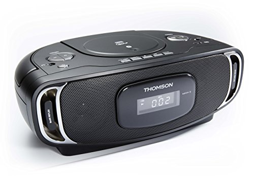Thomson RCD400BT - Radio CD portátil MP3/USB/Bluetooth