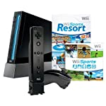 This high-value configuration includes a black Wii console and both Wii Sports and Wii Sports Resort on a single game disc, as well as a Wii Remote Plus and a Nunchuk controller - both black to match the console. Wii Sports and Wii Sports Resort repr...
