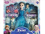 #10: Babytintin™ Beautiful Miss India & Fairy Doll Set with Accessories, Makeup Set Wardrobe Dresses Combo Doll Set for girls (Blue Set)