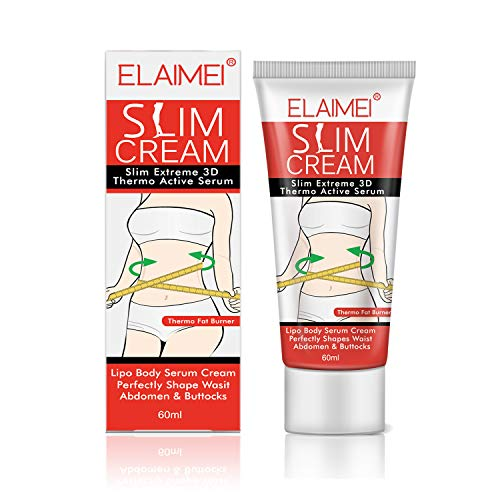 Slim Cream for Shaping Waist, Abdomen and Buttocks, Body Fat Burning Weight Losing Slimming Cellulite Tightening Anti-Cellulite Slim Massage Cream Skin Care - Firming Body Wash
